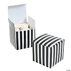 Black Striped Gift Boxes
