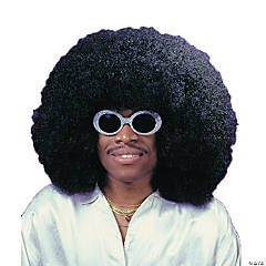 Black Super Fro Wig