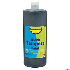 Black Tempera Paints