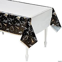 Black Tie Affair Plastic Tablecloth