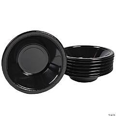 Black Velvet Plastic Bowls