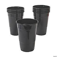 Black Velvet Plastic Tumblers