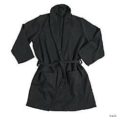 Black Waffle Robe