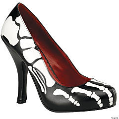 Black X-Ray High Heel Shoes
