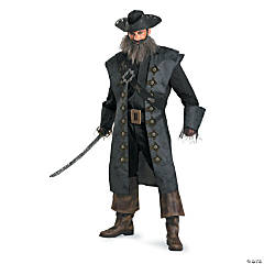 Blackbeard Deluxe Adult Men's Costume