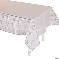 Blessed Day Paper Tablecloth