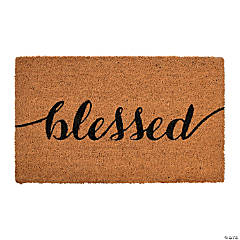 Blessed Door Mat
