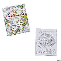 Blessings Adult Coloring Book