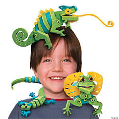 Bloco Lizards & Chameleons Foam Construction Set