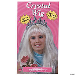Blonde Crystal Wig