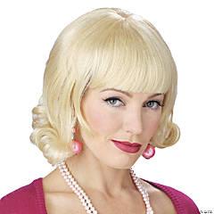 Blonde Flip Wig