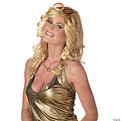 Blonde Mama Discorama Wig