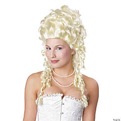 Blonde Marie Antoinette Wig