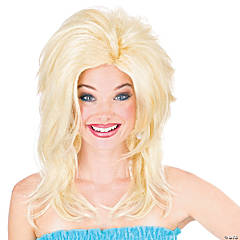 Blonde Midwest Momma Wig