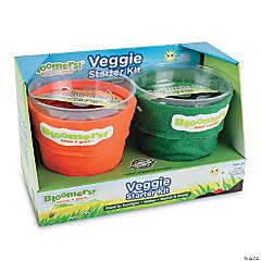 Bloomers! Veggie Growing Kit: Carrot & Cucumber