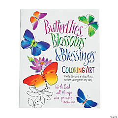 Blossoms & Blessings Coloring Book