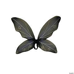 Blue & Black Fairy Wings