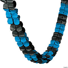 Blue & Black Garland