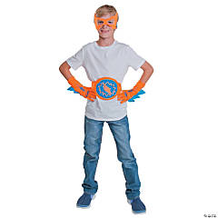 Blue & Orange Superhero Accessories