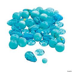 Blue Bead Assortment - 4mm - 12mm
