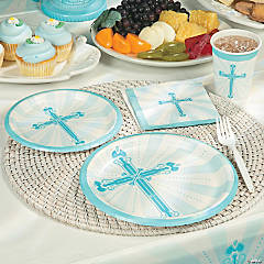 Blue Blessing Party Supplies