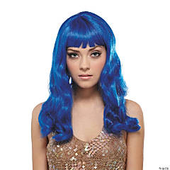 Blue California Wig
