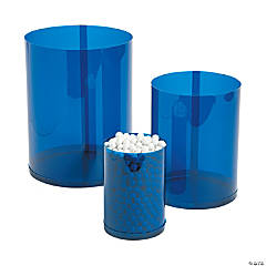 Blue Candy Buffet Cylinders