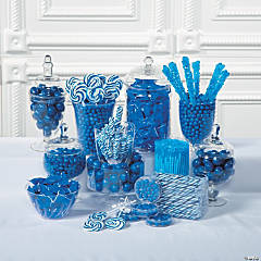 Blue Candy Buffet Supplies