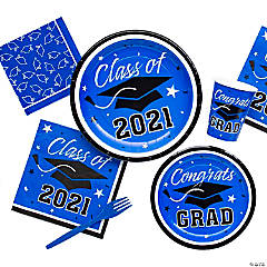 Blue Class of 2016 Graduation Party Supplies