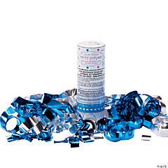Blue Confetti Poppers