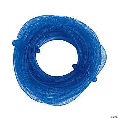 Blue Crinoline Tubing