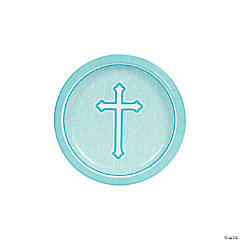 Blue Faith Dessert Plates