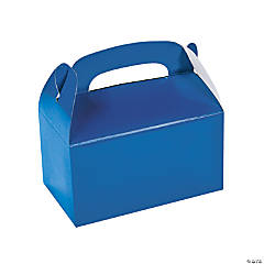 Blue Favor Boxes