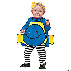 Blue Fish Costume for Infants