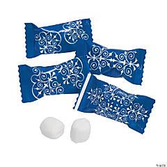 Blue Flourish Buttermints