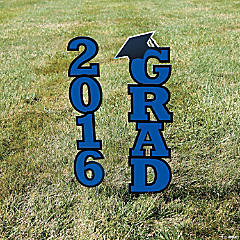 2016 Blue Grad Yard Sign