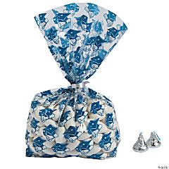 Blue Graduation Cellophane Bags