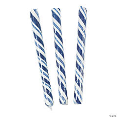 Blue Hard Candy Sticks