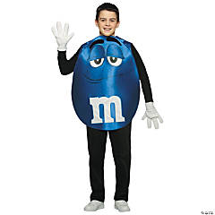 Blue M&M Kid's Costume