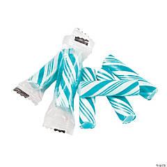 Blue Mini Hard Candy Sticks