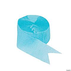 Blue Paper Streamer