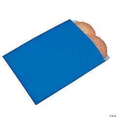 Blue Parchment Treat Bags
