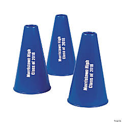 Blue Personalized Megaphones