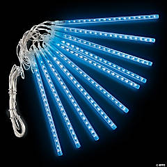 Blue Raining Tube Party Lights