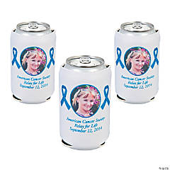 Blue Ribbon Custom Photo Can Coolers