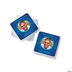Blue Ribbon Custom Photo Square Containers