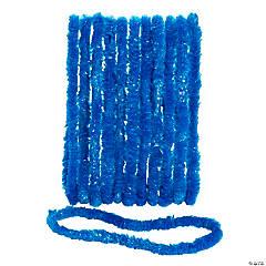 Blue School Spirit Leis