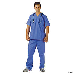 Blue Scrubs Costume for Men