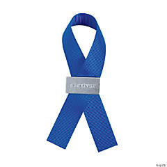 Blue Survivor Ribbon Pins