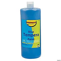 Blue Tempera Paint